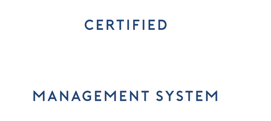 Certified Lucideon Management System; I.S.O. 9001