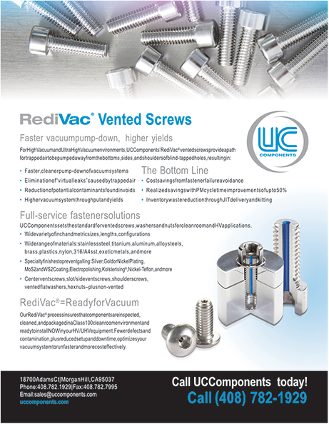 Vented Screws Information Sheet