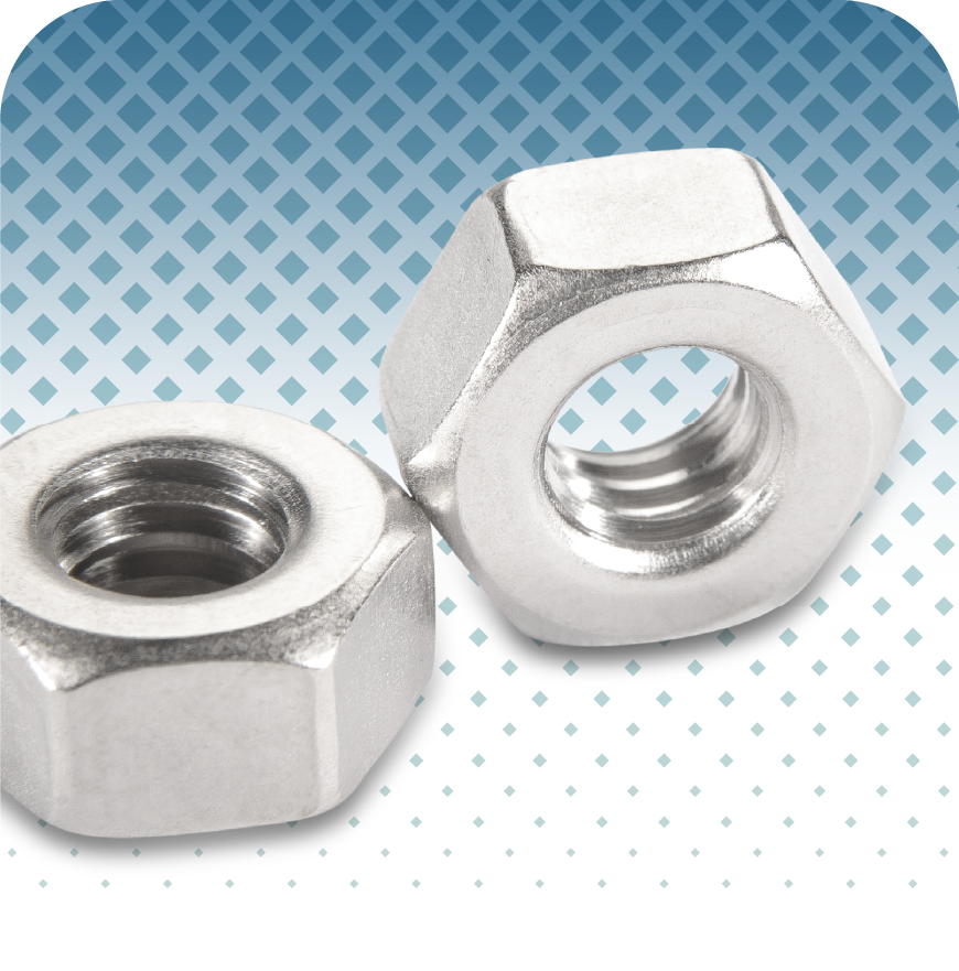 UC RediVac® Electropolished Hex Nuts
