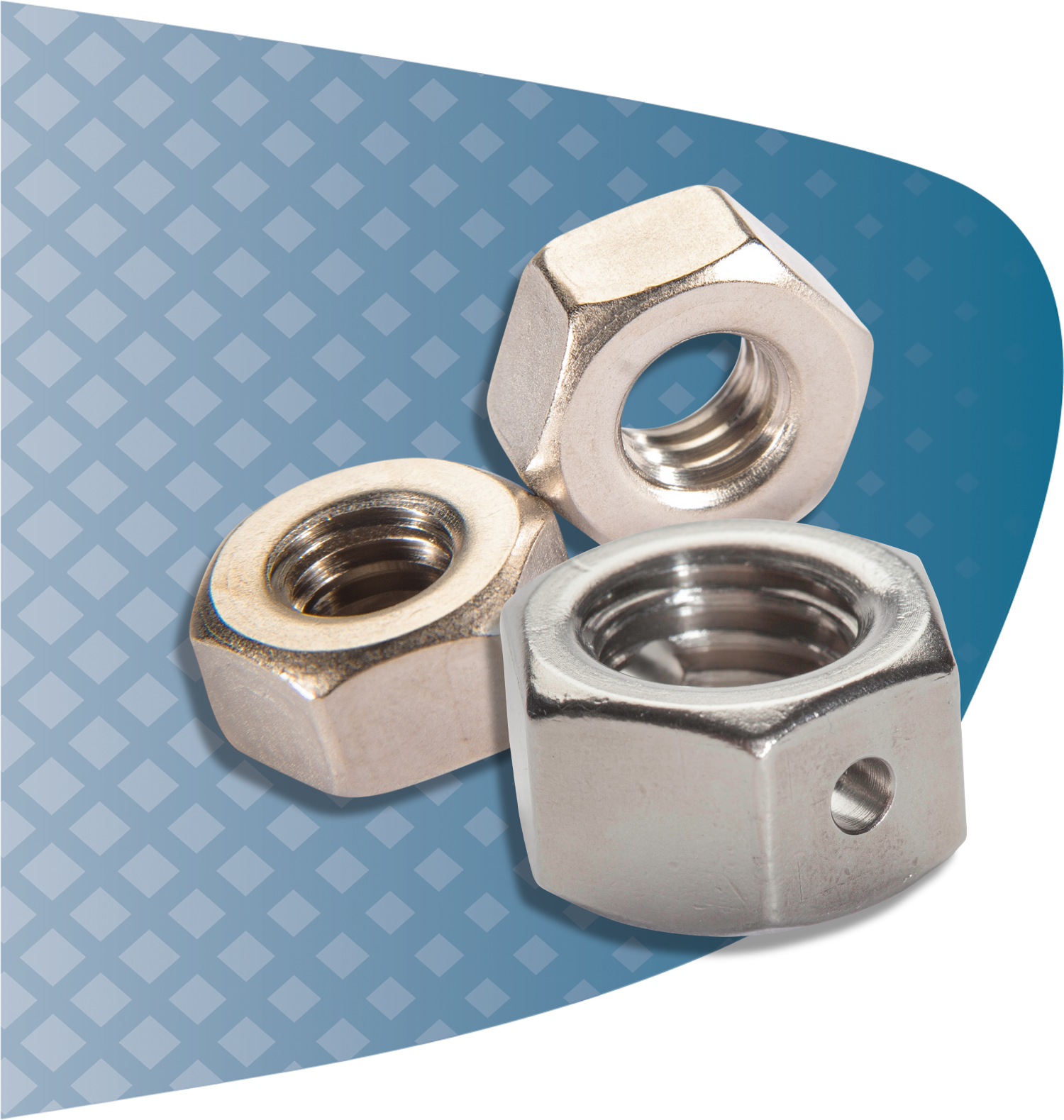 UC RediVac® vented and non-vented hex nuts