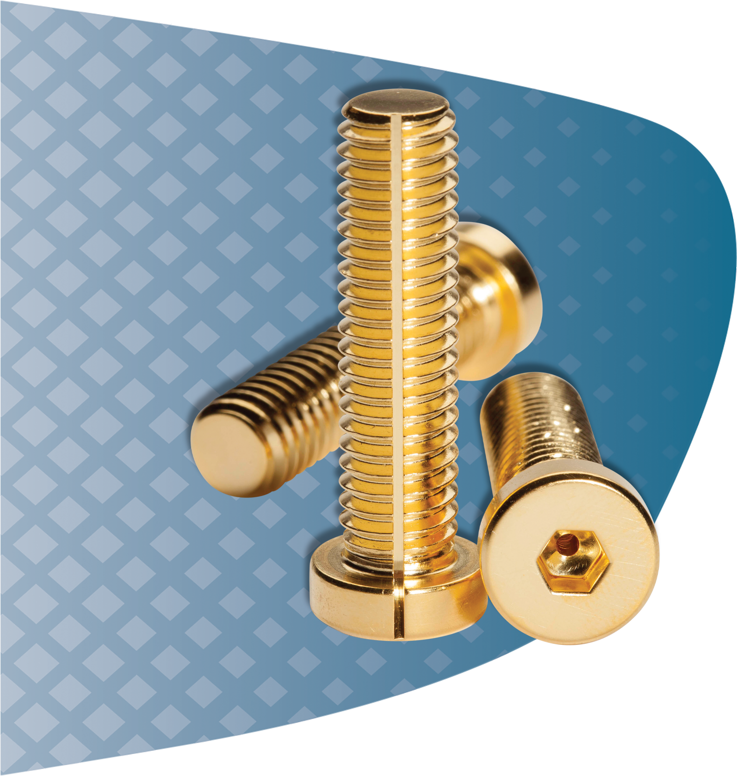 UC RediVac® Finish Options such as gold plated screws