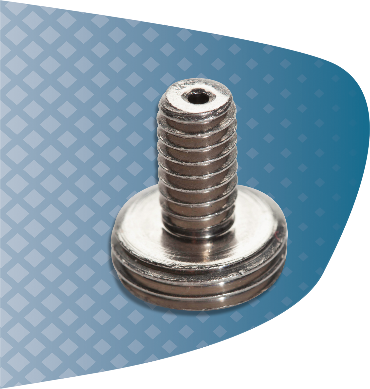 UC Nickel 200 Custom Nickel Plated Screw