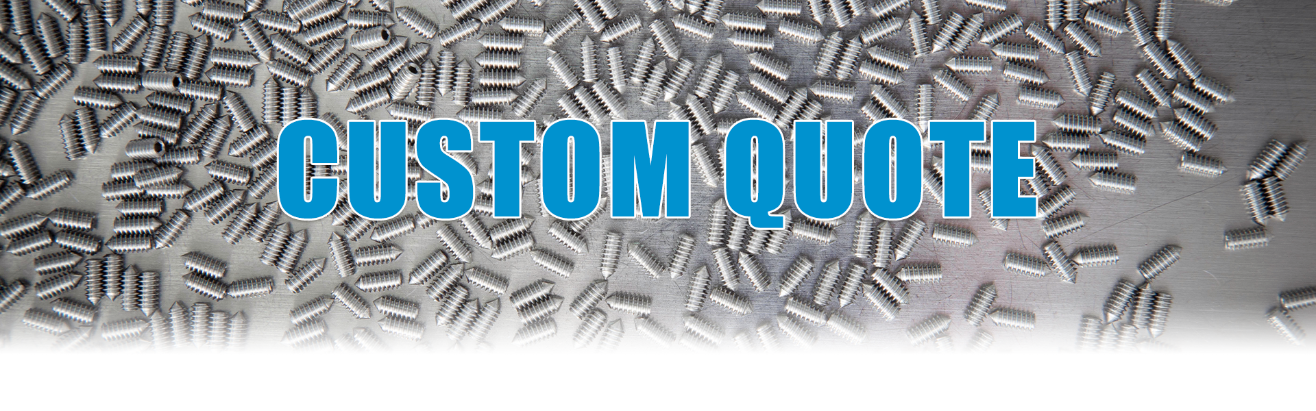 UC Components custom fastener and o-ring quote