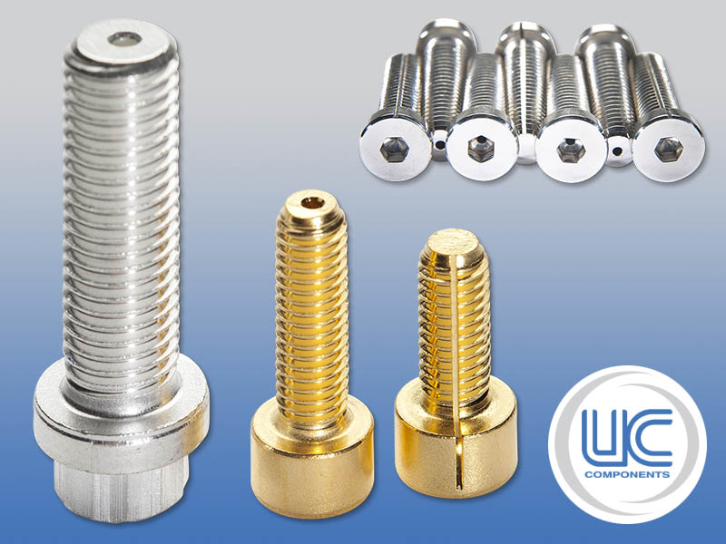 RediVac® vented screws for vacuum applications