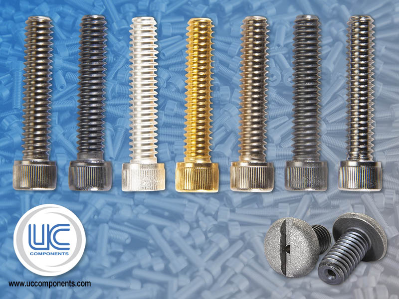 RediVac® Finish Options such as Gold plated screws